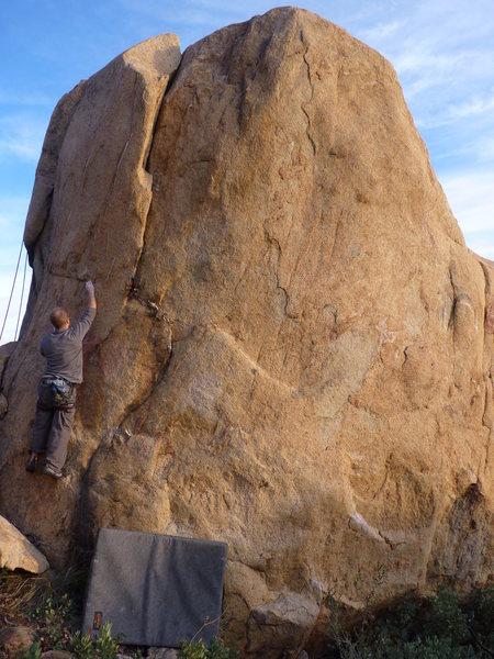 Rock Climbing Photo: Nelson (V1-2)
