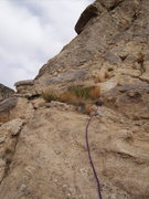 "Rock Climbing Photo: A little run out in spots....Start of the ""se..."