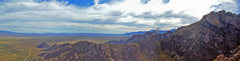 Rock Climbing Photo: Pano from atop Elephant Dome