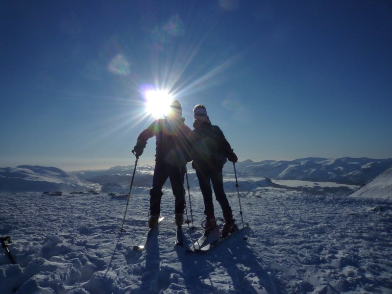 On The Summit of Blencathra... Dec 2010... Climate Change ??? Photo Ron Kenyon