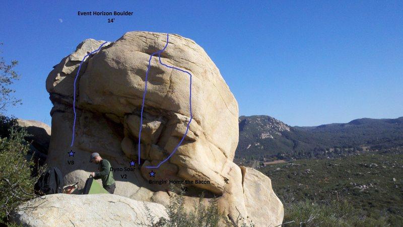 Rock Climbing Photo: Event Horizon