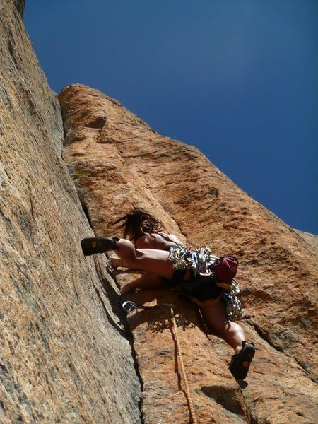Awesome climbing at the Perch.