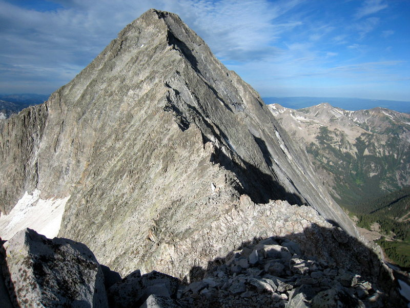 Capitol Ridge from K2, first week of July 2008