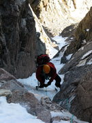 Rock Climbing Photo: Upper portion of Dreamweaver, Mt. Meeker RMNP, CO ...