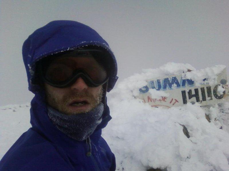 Pikes Peak 12/22/10  My first winter summit