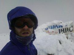 Rock Climbing Photo: Pikes Peak 12/22/10  My first winter summit