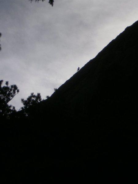 Rock Climbing Photo: Someone?  12-14-10.