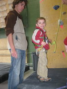 Rock Climbing Photo: Gettin Ready