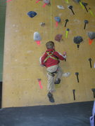 Rock Climbing Photo: getting on the  wall