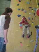 Rock Climbing Photo: gettin higher!
