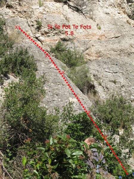 Rock Climbing Photo: Si Te Fot Te Fots
