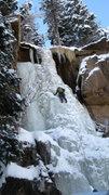 Rock Climbing Photo: Hidden Falls as of 12/22/2010.