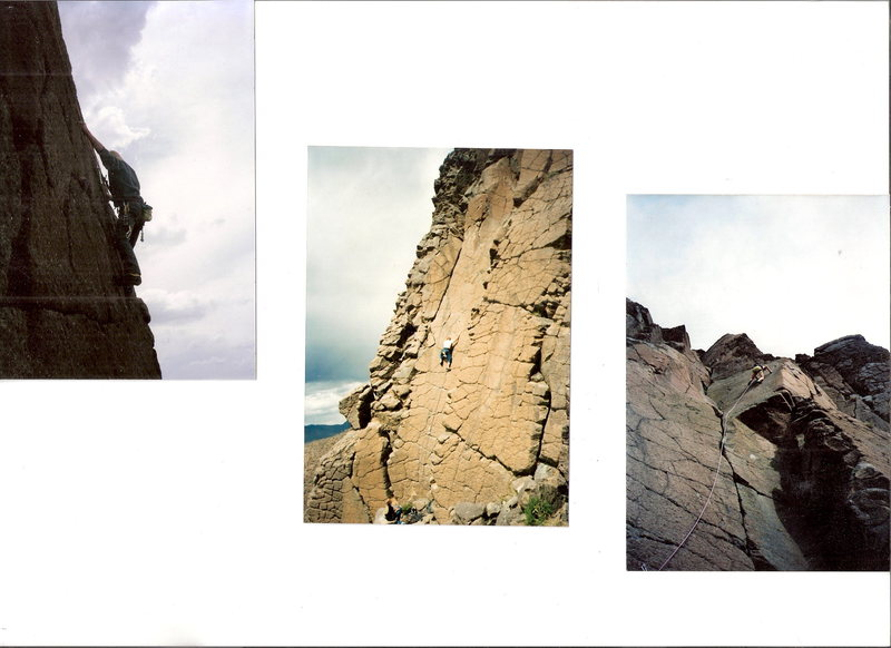 Rock Climbing Photo: Iron butte