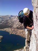 Rock Climbing Photo: greg on northwest ridge
