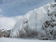 Rock Climbing Photo: Lake City ice - Jan. 22, 2010.