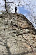 Rock Climbing Photo: James on Mr. Bungle