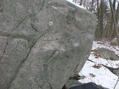 Rock Climbing Photo: A problem with everything from tension slopey trav...
