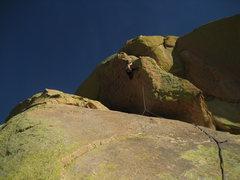 Rock Climbing Photo: Warpaint, alternate finish