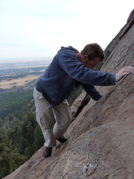 Rock Climbing Photo: Enjoying a gorgeous December afternoon.