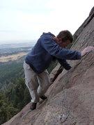 Rock Climbing Photo: Enjoying a gorgeous December afternoon.
