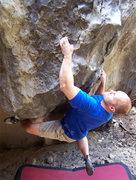 Rock Climbing Photo: The crux hold on Shindig