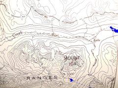 Rock Climbing Photo: Mount Ida South Ridge From Putnam & Kruszyna, 1985...