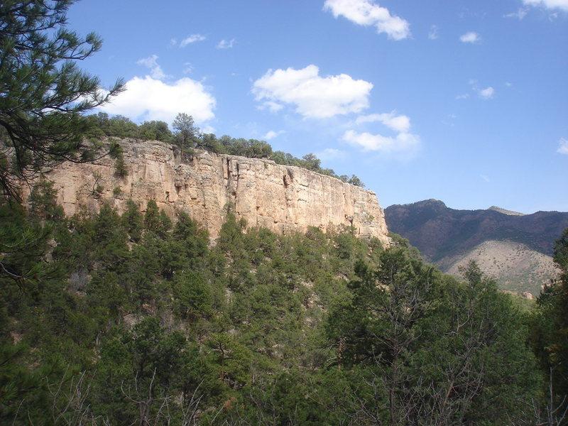 Rock Climbing Photo: 2150 Wall.