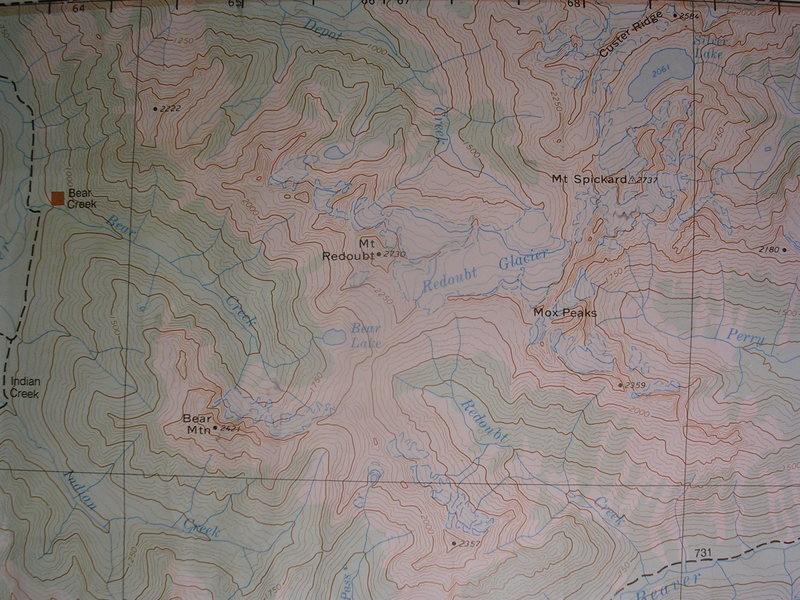 Rock Climbing Photo: Eastern Chilliwack Range