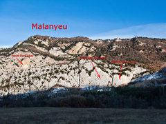 Rock Climbing Photo: Area photo Malanyeu