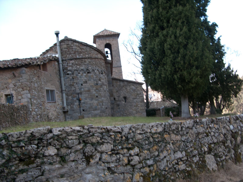 Backside of the old church