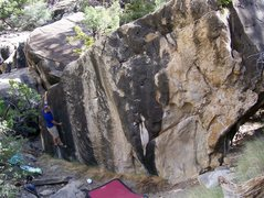 the climb itself