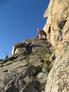 Rock Climbing Photo: the SW side of East Thorn Ridge did not prove to b...