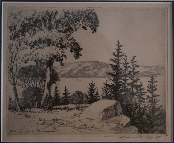 "Leonard Pescheret's ""Devil's Lake, WI"""