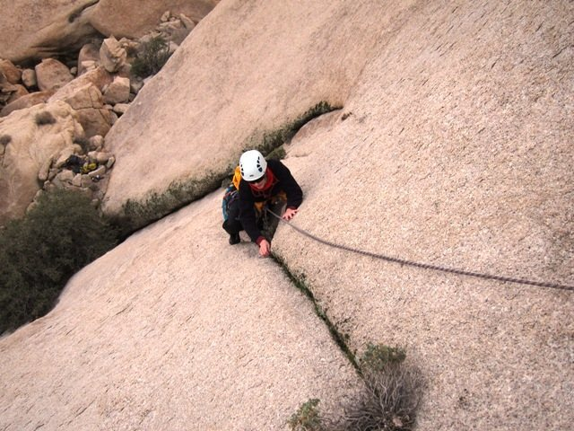 Rock Climbing Photo: Wilkinson Sword first pitch