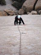 Rock Climbing Photo: Looking down MC1.