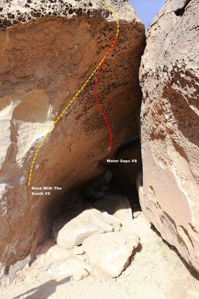 Water Saps Cave Topo