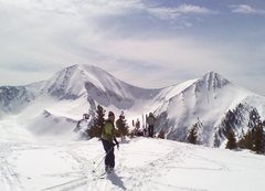 Backcountry in the La Sals last winter