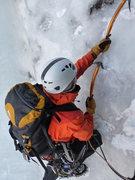 Rock Climbing Photo: Crusin up pitch 5