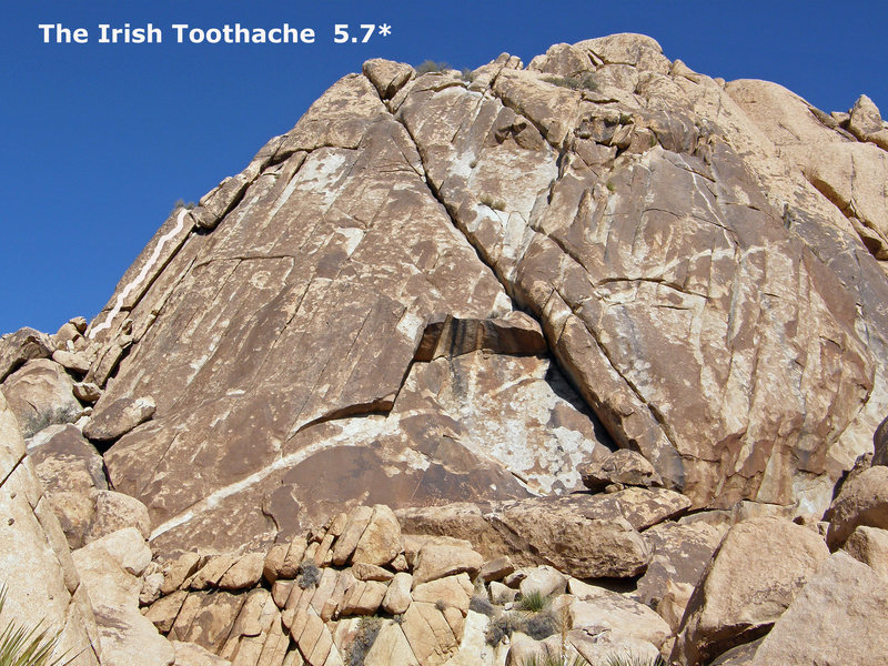 Rock Climbing Photo: Irish Toothache