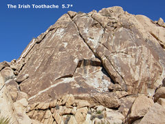 Rock Climbing Photo: Irish Toothache