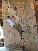Rock Climbing Photo: my home wall