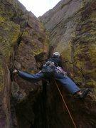 Rock Climbing Photo: Starting the 3rd pitch....