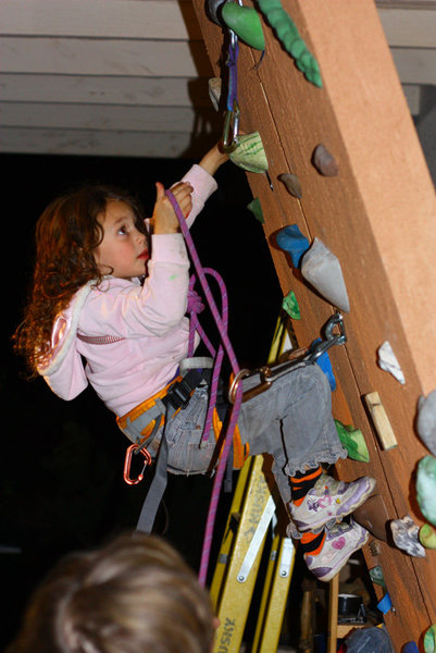 Rock Climbing Photo: First Lead 1