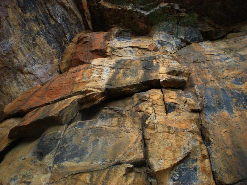 Rock Climbing Photo: Massive Attack 5.9+