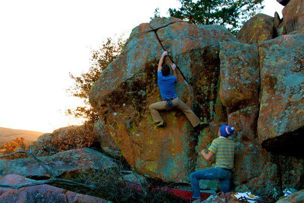 Rock Climbing Photo: After hours of frustration and countless efforts, ...