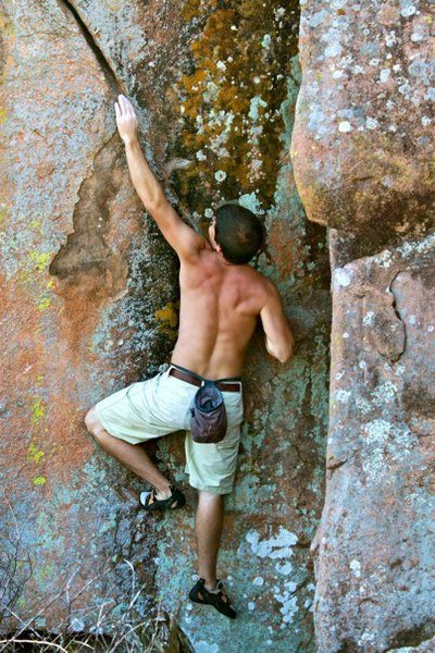 Rock Climbing Photo: First attempt at the Karman Line...