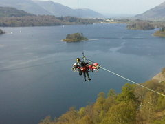Rock Climbing Photo:  Lake Derwentwater just outside the town of Keswic...