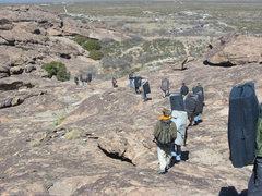 Rock Climbing Photo: Hueco Rock Rodeo 2007