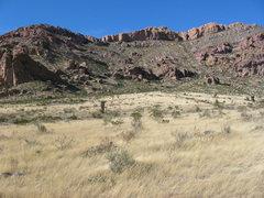 Rock Climbing Photo: Pena Blanca East End