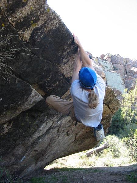 Bouldering at Hueco 2